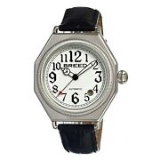 Breed Arthur 1201 Menandrsquos Automatic Classic Dress Watch Leather Strap New