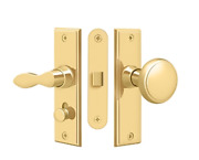 Storm Door Replacement Square W Mortise Lock Solid Brass 9 Finishes By Deltana