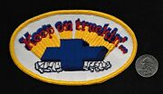 Vintage Keep On Truckinand039... Chevrolet 5 Hot Rod Gear Head Collectors Patch