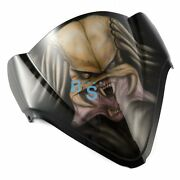 Airbrushed Octopus Windscreen Windshield For Gsxr Fairing Motorcycle