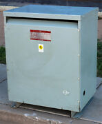 Ge General Electric 9t23b3875 Dry Type Indoor Outdoor Transformer 112.5kva 480v