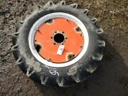 Allis-chalmers 9.5-24 Alliance Tractor Tire And Rim, Tag 105