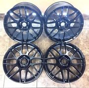 19 19 Inch Ford Mustang Svt Staggered Cobra-shelby Wheels Rims 3865 Set Of 4