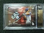 Topps Now Os-16f Corey Seager Nlds Jersey Swatch Relic /10 Roy Rare Bgs 10