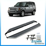 Oe Style Running Boards Side Steps - Pair For Land Rover Discovery 3 And 4