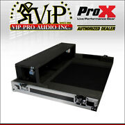 Prox Xs-ymtf3dhw Yamaha Tf3 Mixer Flight / Road Case W/ Doghouse And Wheels