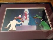 Disneyand039s Roger Rabbit And Weasels Jessica Movie Production Cell Great Scene Sale