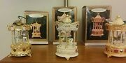 Hallmark Ornaments Tobin Fraley Holiday Carousel Collector's Series 1994-1996