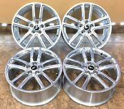 19 19 Inch Oem Factory Ford Mustang Wheels Rims Polished 10079 Set Of 4 Used