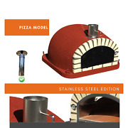 Brick Pizza Oven - Stainless Steel Edition