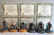 Wizard Of Oz Original 6 Limited Edition Music Box Domed Sculpture Franklin Mint