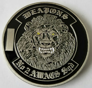Usaf Us Air Force Nato E3a Weapons No. 2 Awacs Squad Challenge Coin