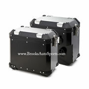 Panniers Black Left + Right Bags For R1200gs 2013-2020 Wc
