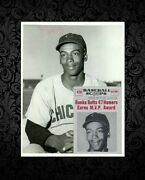 1956 Ernie Banks 61and039 Nu-card Scoops Card Image Type 1 Original Photo