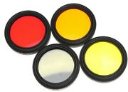 4 Leica Filters Set For Leica 500mm F8 Telyt-r 1