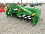 Rotary Tiller 8and039-6 Valentini A2500tractor 3-ptpto Qh Compat Hd 200hp Gbox