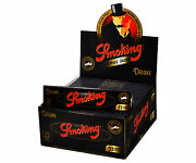 1 Box Smoking Deluxe King Size Papers 50 Heftchen X 33 Blandaumlttchen Long Papers