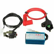 Racing Ignition Coil Cdi Kill Switch 50-160cc Ssr Ycf Pit Dirt Bike Scooter Atv
