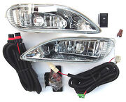 Fog Lamp Lights Front One Set For Toyota Camry Solara 2002-2004 Berlina