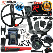 Xp Deus Detector W/ Mi-6 Pinpointer, Ws4 Backphone, Remote, X35 Coil And More