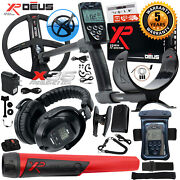 Xp Deus Detector W/ Mi-6 Pinpointer, Ws5 Headphone, Remote, X35 Coil And More