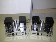 Gray Research Am 50 Tube Amplifiers Matched Pair Plug And Play Very Good Cond.