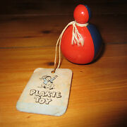 Vintage Plakie Toy Baby Rattle Nos Toys That Stand The Test Roly Poly New
