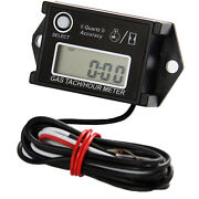 Small Engine Tachometer And Hour Meter - 2-cycle And 4-cycle Engines - 97958
