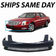 New Primered - Front Bumper Cover Fascia Replacement For 2006-2011 Cadillac Dts