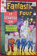 Fantastic Four 29 Marvel Silver Age 1964 It Started On Yancy Street High Grade
