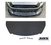 Sbs Front Splitter + 2 Support Rods 2015-2017 Mustangs With Roush Front Bumper