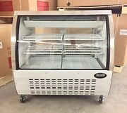 Deli Case 48andrdquo Refrigerated Display Case Red Meat Bakery Show Case 4andrsquo Pastry