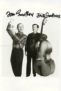 The Smothers Brothers - Photograph Signed With Co-signers