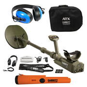 Garrett Atx Pulse Induction W/ Pro Pointer At Pinpointer And Waterproof Headphones