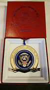 58th Presidential Donald Trump And Mike Pence Inauguration Christmas Ornament