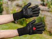 Pair Of Livivo Bbq Oven Gloves Extreme Heat Resistant Grill 350℃ Military Grade