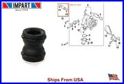 Audi Vw Water Pump To Oil Cooler Coolant Pipe Connector Flange Joint 06h121131c