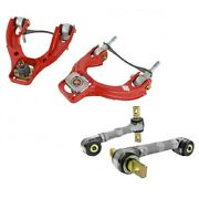 Skunk2 Pro+ Plus Front+rear Camber Kit For 94-01 Acura Integra Gs-r/ls/rs/type-r