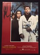Mel Gibson - Spanish Mutiny On The Bounty - Signed Autograph Hollywood Posters