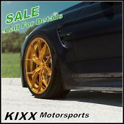 20 Rohana Rfx5 20x9 Gold Forged Concave Wheels For Acura Tsx