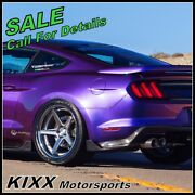 20 Ferrada Fr3 20x9 20x10.5 Silver Concave Wheels For Ford Mustang Gt
