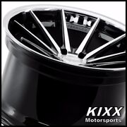 20 Ferrada Fr4 20x9/10.5 Black/silver Concave Wheels For Ford Mustang Gt Gt500