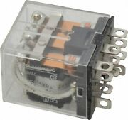 Omron 11 Pins 1100 Va Power Rating Square Electromechanical Plug-in And Sold...