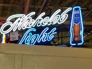 Michelob Light Neon Beer Sign Excellent Condition. 20x48. Local Pickup Only.