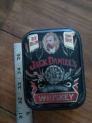 Vintage Jack Daniels Old No. 7 Old Time Tennessee Whiskey Tin Box