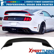 Fits 15-21 Ford Mustang Gt350 V2 Abs Trunk Spoiler - Oem Painted Color