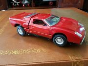 Vintage Bandai 4190 Ford Gt Battery Op Tin Toy Made In Japan Tin Toy Lot Old