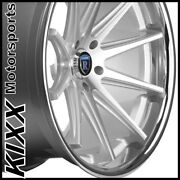 22 Rohana Rc10 22x9/10.5 Silver Concave Wheels For Range Rover Sport Hse