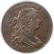 1800 S-205 R-4 Pcgs Vf 35 Draped Bust Large Cent Coin 1c