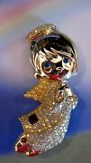 Precious Moments Limited Edition Timmy The Angel Pin Large Brooch